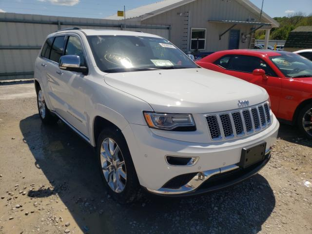 Salvage cars for sale at Prairie Grove, AR auction: 2015 Jeep Grand Cherokee