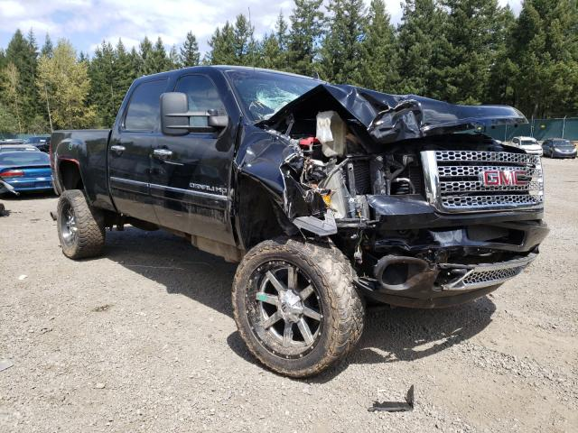 Salvage cars for sale from Copart Graham, WA: 2011 GMC Sierra K25