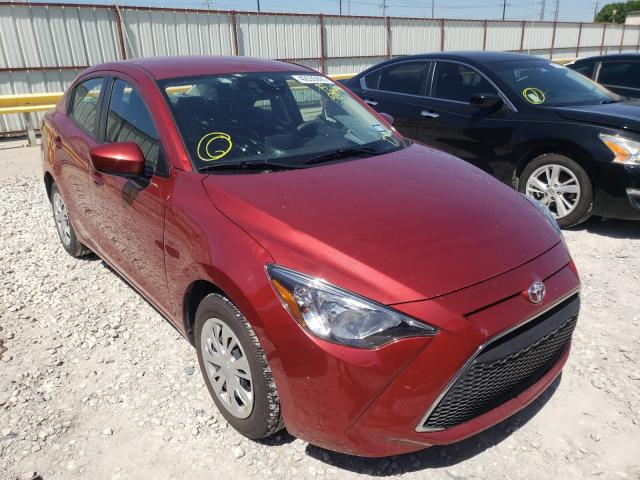 Salvage cars for sale from Copart Haslet, TX: 2019 Toyota Yaris L