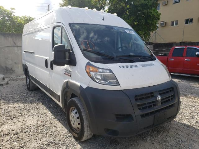 Salvage cars for sale from Copart Opa Locka, FL: 2018 Dodge RAM Promaster