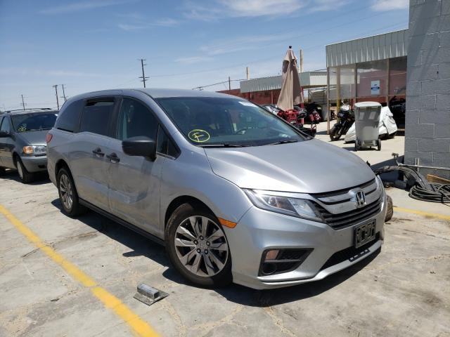 Salvage cars for sale from Copart Sun Valley, CA: 2020 Honda Odyssey LX