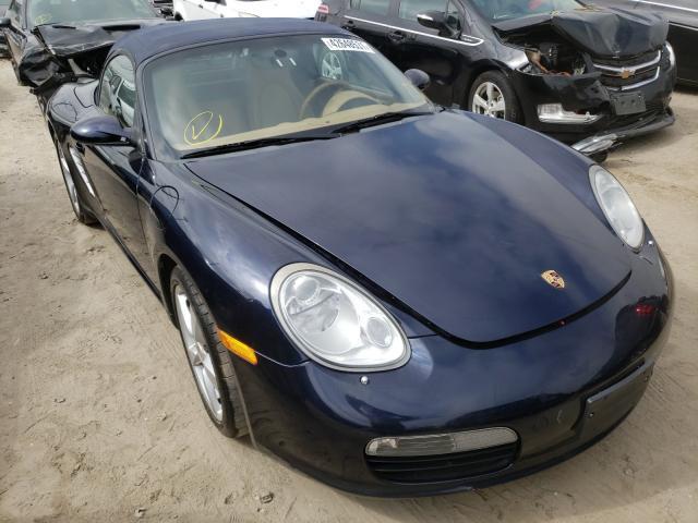 Vehiculos salvage en venta de Copart Los Angeles, CA: 2007 Porsche Boxster
