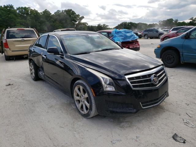 Salvage cars for sale from Copart Ocala, FL: 2013 Cadillac ATS Luxury