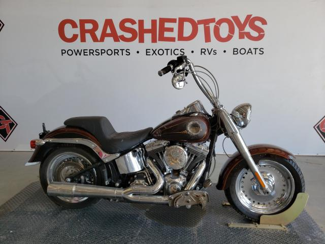 Salvage cars for sale from Copart Sikeston, MO: 2009 Harley-Davidson Flstf