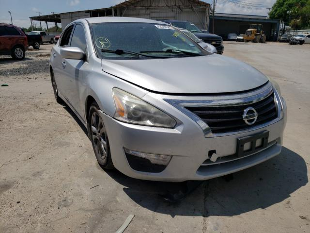 Salvage cars for sale from Copart Corpus Christi, TX: 2015 Nissan Altima 2.5