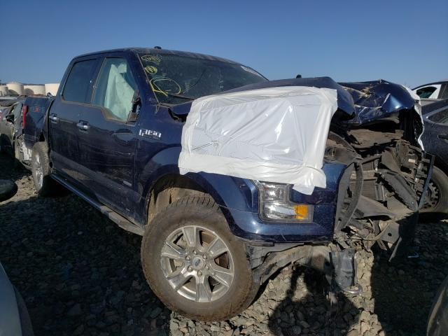 Salvage cars for sale from Copart Martinez, CA: 2016 Ford F150 Super