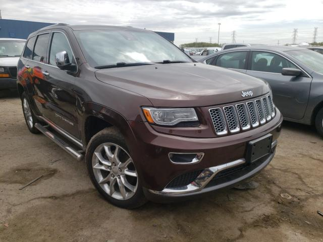 Salvage cars for sale from Copart Woodhaven, MI: 2014 Jeep Grand Cherokee