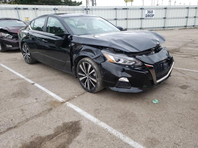 Salvage cars for sale from Copart Moraine, OH: 2020 Nissan Altima SR