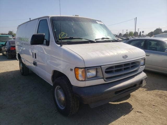 Ford E 250 salvage cars for sale: 2001 Ford E 250