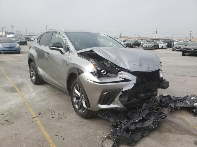 Salvage cars for sale from Copart Sun Valley, CA: 2020 Lexus NX 300 F-S