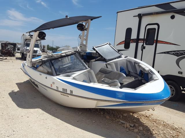 Salvage boats for sale at New Braunfels, TX auction: 2019 Malibu Boat