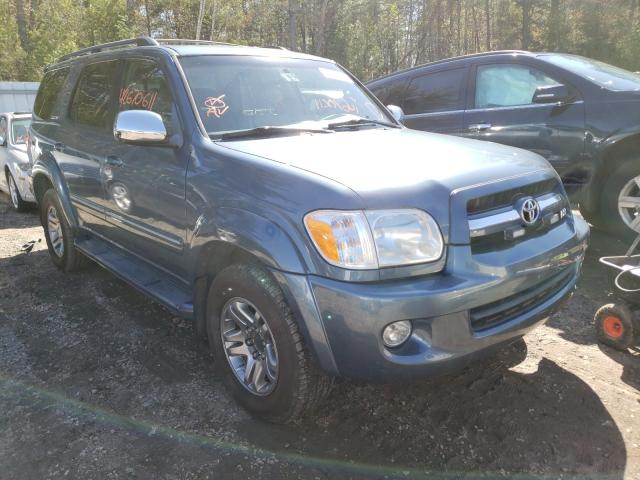 Salvage cars for sale from Copart Lyman, ME: 2007 Toyota Sequoia LI