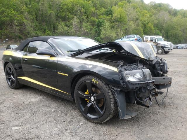 Salvage cars for sale from Copart Marlboro, NY: 2014 Chevrolet Camaro LT