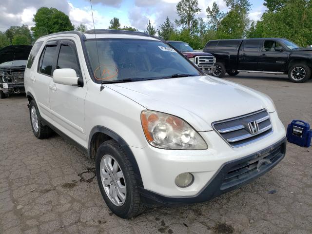 Honda CRV salvage cars for sale: 2006 Honda CRV