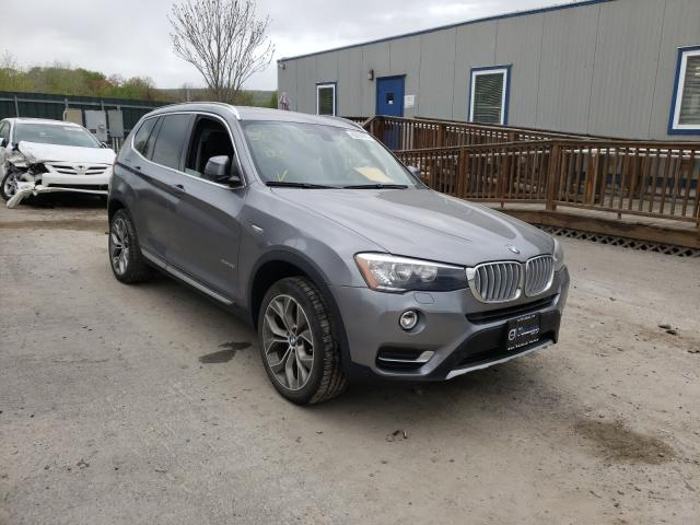 Salvage cars for sale from Copart Duryea, PA: 2016 BMW X3 XDRIVE2