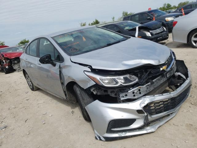 Salvage cars for sale from Copart Kansas City, KS: 2018 Chevrolet Cruze LS