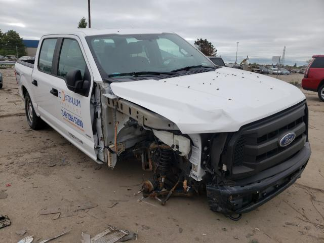 Salvage trucks for sale at Woodhaven, MI auction: 2015 Ford F150 Super