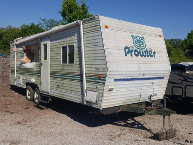 Prowler Travel Trailer salvage cars for sale: 2003 Prowler Travel Trailer