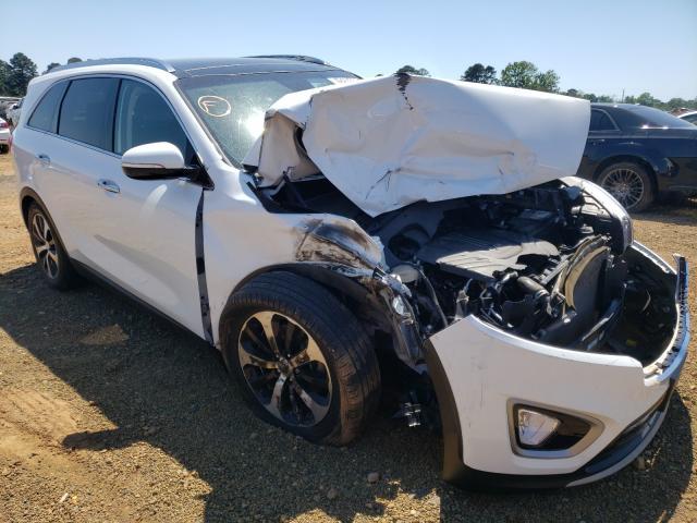 Salvage cars for sale from Copart Longview, TX: 2018 KIA Sorento EX