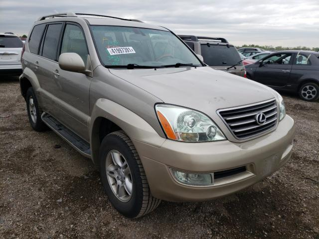 Lexus GX 470 salvage cars for sale: 2004 Lexus GX 470