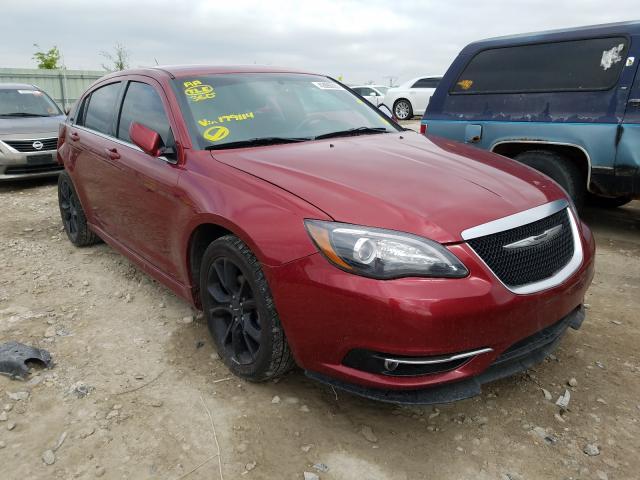 Vehiculos salvage en venta de Copart Kansas City, KS: 2014 Chrysler 200 Touring