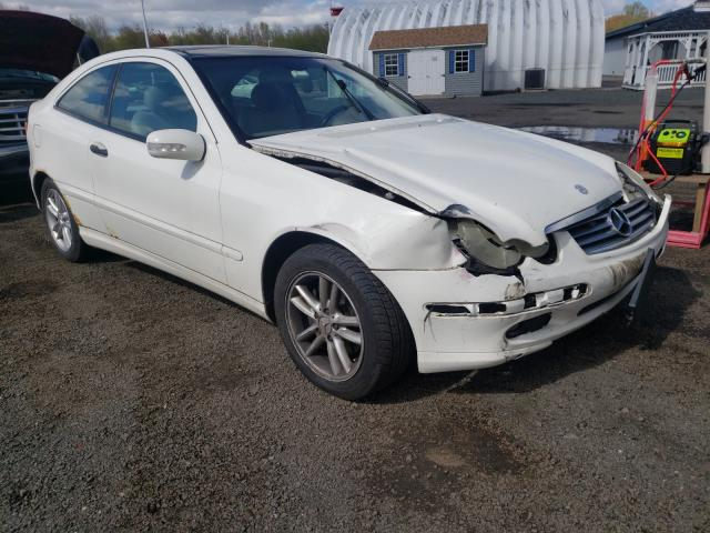 Salvage cars for sale from Copart East Granby, CT: 2002 Mercedes-Benz C 230K Sport