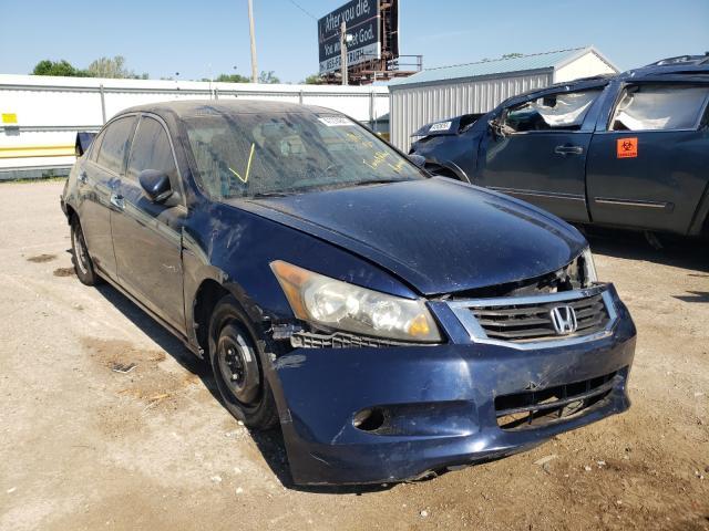 Salvage cars for sale at Wichita, KS auction: 2009 Honda Accord EXL