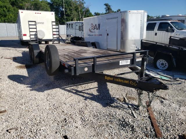 Salvage 2020 UTILITY FLATBED TR - Small image. Lot 41717591