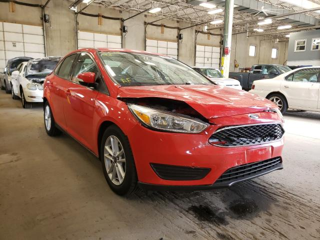 Salvage cars for sale from Copart Blaine, MN: 2015 Ford Focus SE