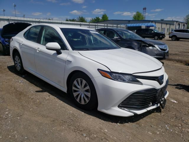 Salvage cars for sale from Copart Finksburg, MD: 2020 Toyota Camry LE