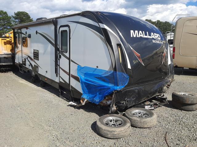 Mallard salvage cars for sale: 2016 Mallard Travel Trailer