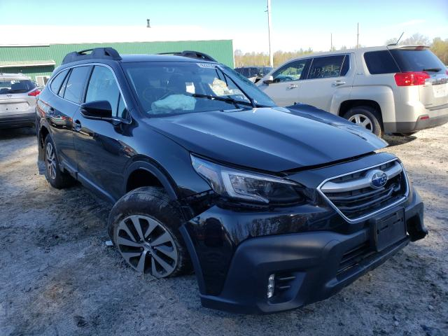 Salvage cars for sale at Candia, NH auction: 2020 Subaru Outback PR