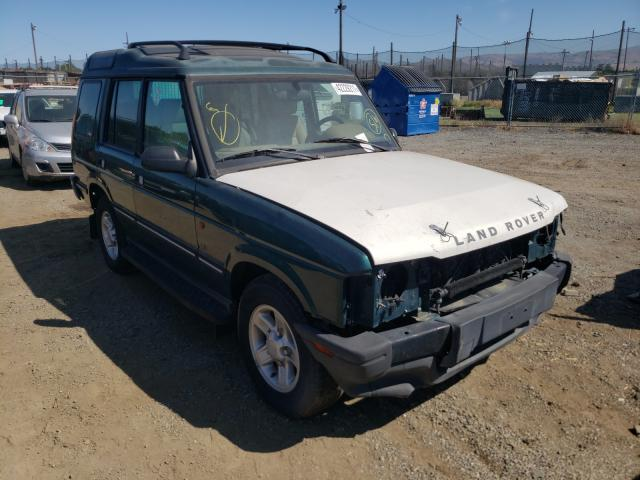 Land Rover Discovery salvage cars for sale: 1998 Land Rover Discovery