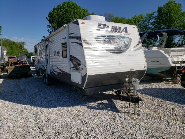 Vehiculos salvage en venta de Copart Rogersville, MO: 2014 Wildwood Puma