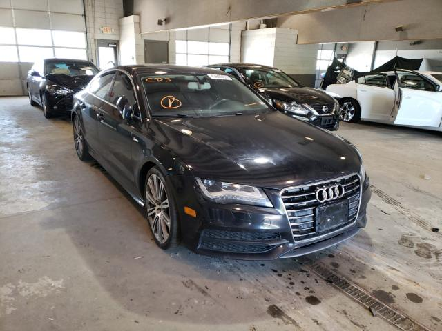 Salvage cars for sale from Copart Sandston, VA: 2012 Audi A7 Prestige