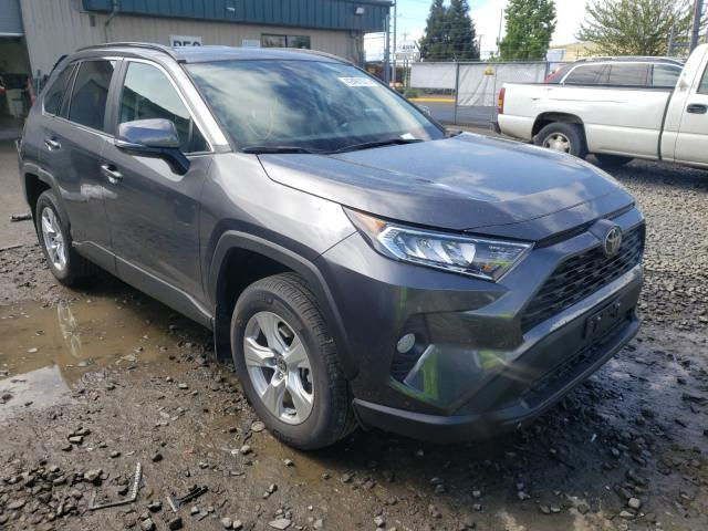 Salvage cars for sale from Copart Eugene, OR: 2021 Toyota Rav4 XLE