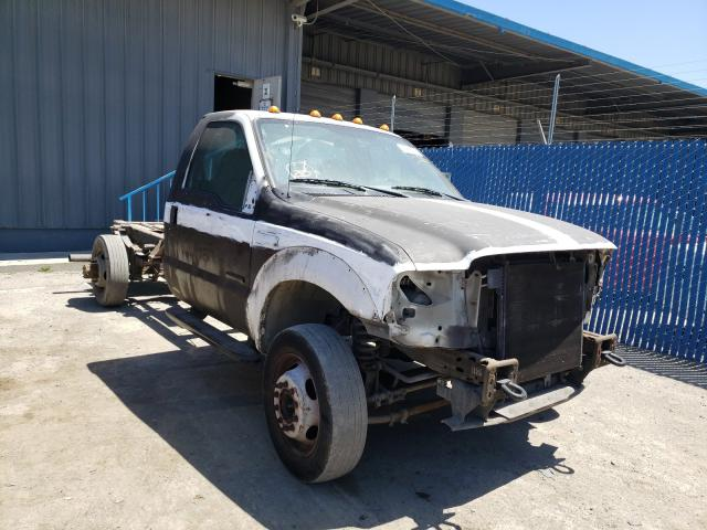 Salvage cars for sale from Copart Hayward, CA: 2007 Ford F450 Super