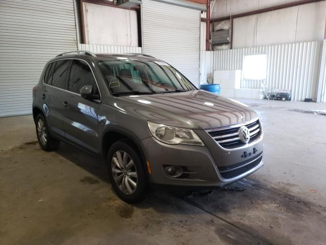 Salvage cars for sale from Copart Lufkin, TX: 2011 Volkswagen Tiguan S