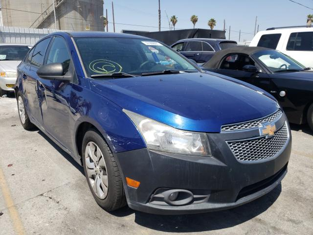 Salvage cars for sale from Copart Wilmington, CA: 2013 Chevrolet Cruze LS