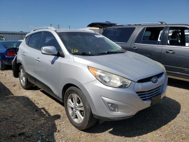 Salvage cars for sale from Copart Mercedes, TX: 2013 Hyundai Tucson GLS