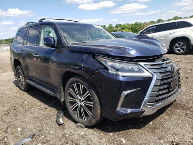 Lexus salvage cars for sale: 2020 Lexus LX 570