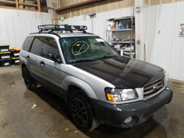 Salvage cars for sale from Copart Anchorage, AK: 2005 Subaru Forester 2