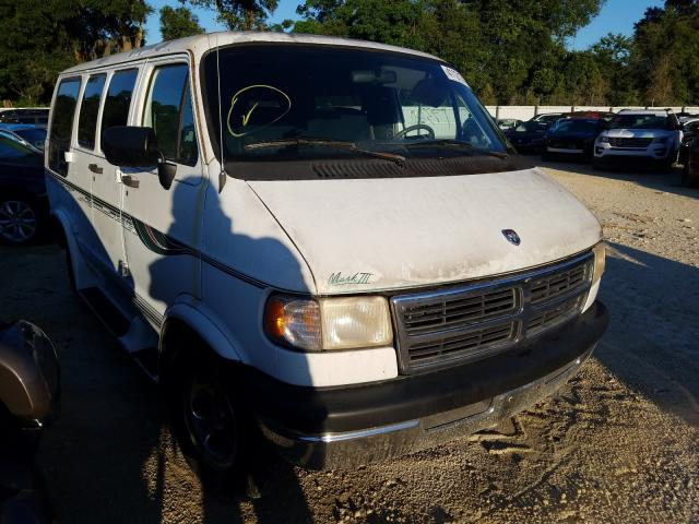 Salvage cars for sale from Copart Ocala, FL: 1996 Dodge RAM Van B2