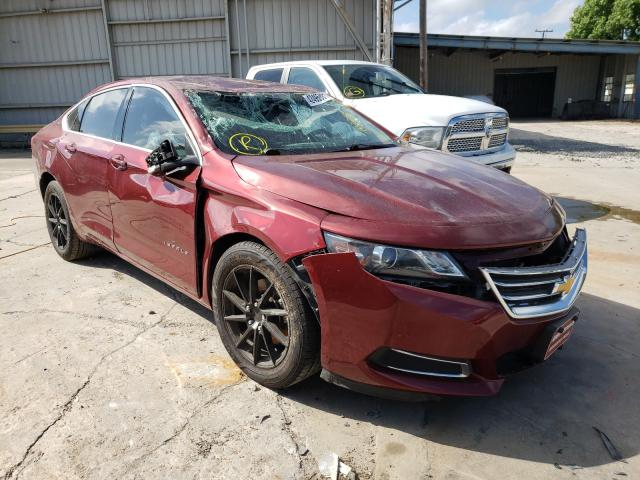 Salvage cars for sale from Copart Corpus Christi, TX: 2017 Chevrolet Impala LT