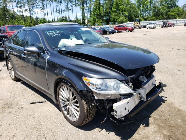 Salvage cars for sale at Harleyville, SC auction: 2011 Lexus LS 460