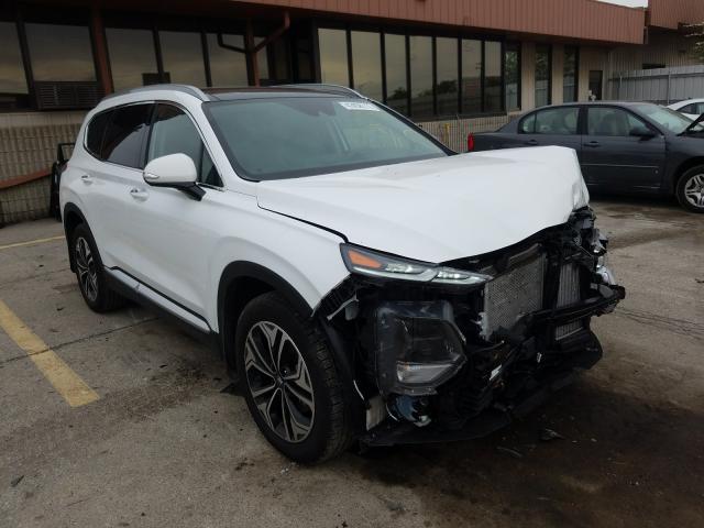 Hyundai salvage cars for sale: 2019 Hyundai Santa FE L