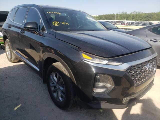 Salvage cars for sale from Copart Oklahoma City, OK: 2020 Hyundai Santa FE S
