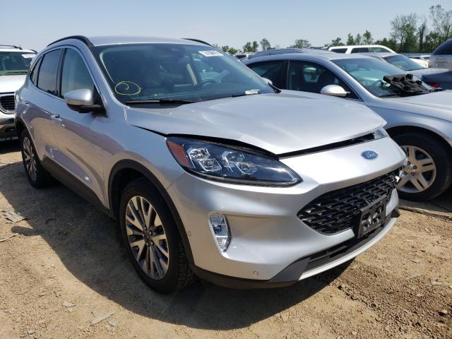 Salvage cars for sale from Copart Bridgeton, MO: 2020 Ford Escape Titanium