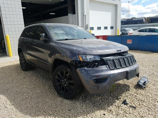 Salvage cars for sale from Copart Blaine, MN: 2017 Jeep Grand Cherokee