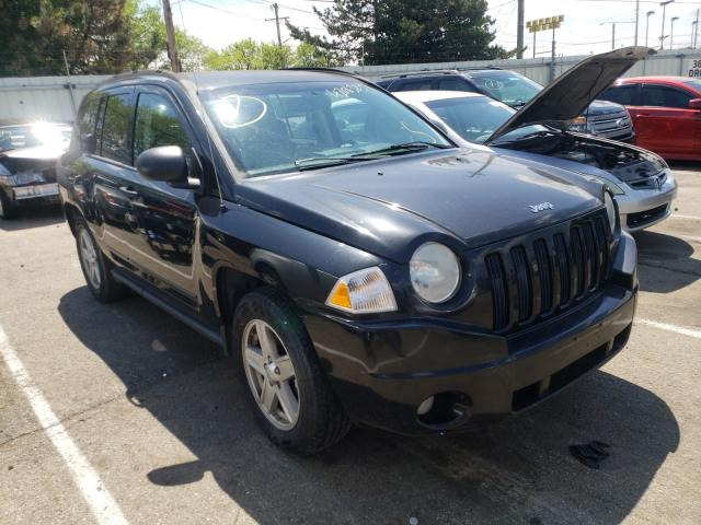 Salvage cars for sale from Copart Moraine, OH: 2008 Jeep Compass SP